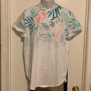 Hollister curved hem tee men's XL pre owned